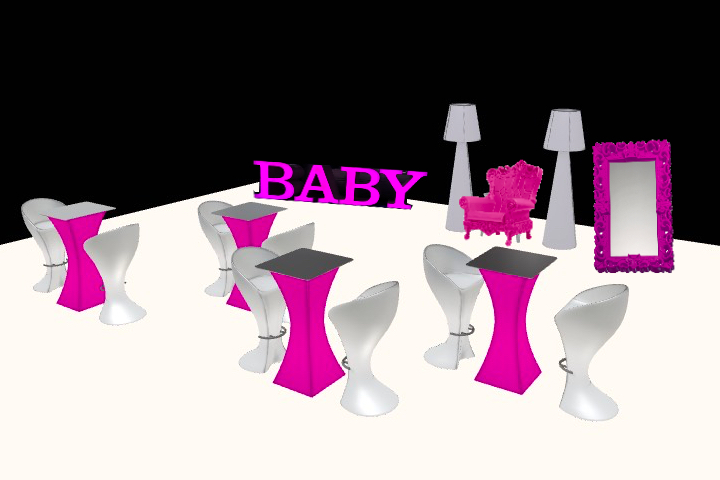 baby shower rental package