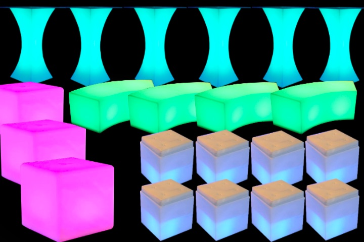 LED Furniture Rental NY