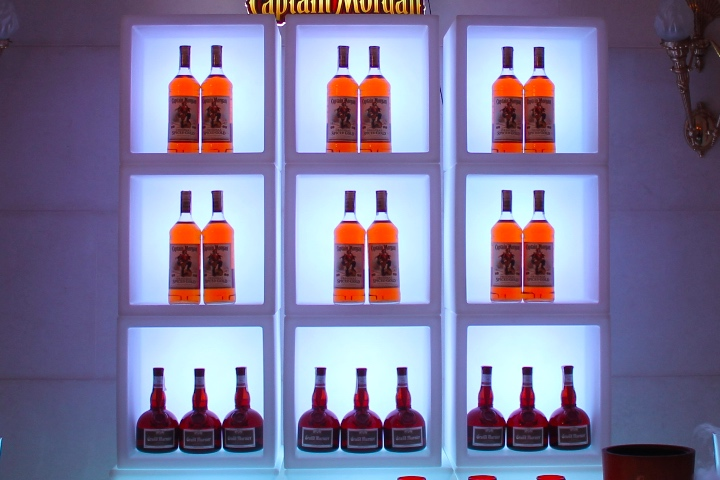 LED Back Bar for rent