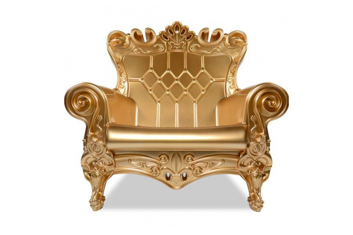 white throne chair rental ny