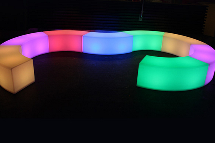 LED lounge furniture rental for events